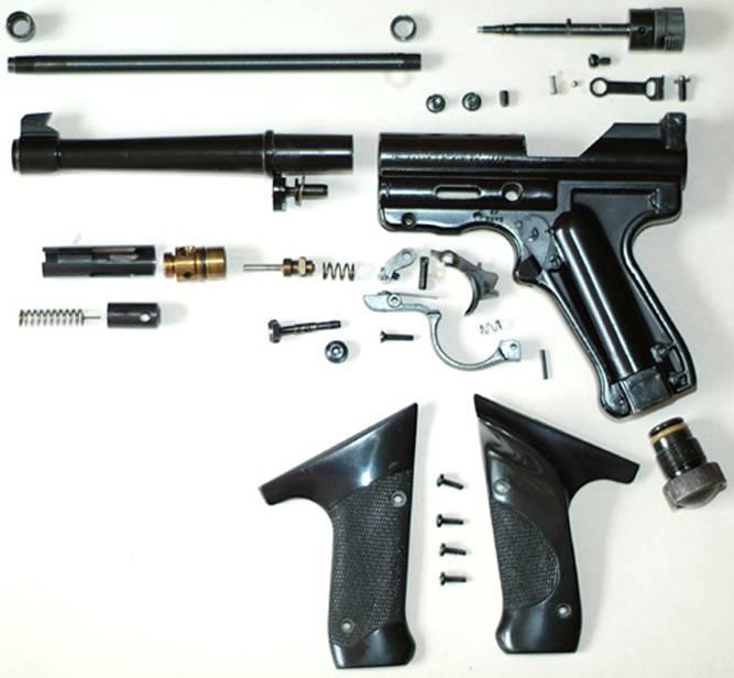 crosman mark i crosman air pistols vintage airguns gallery rh forum vintageairgunsgallery com crosman 2240 user manual Crosman 2240 Parts Diagram
